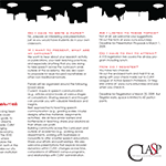 Clasp Trifold Pamphlet - Advertising Design - Web & Graphic Designer in NYC