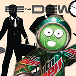 Mountain Dew Ad Campaign - Advertising Design - Web & Graphic Designer in NYC