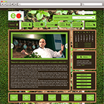 Edible Academy - PSD MockUp for the New York Botanical Garden - Web & Graphic Designer from NYC